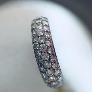 ダイヤ リング K18 ホワイトゴールド 1.02ct(リング(指輪))