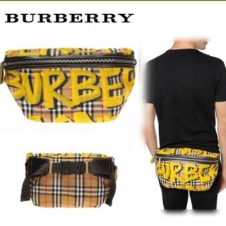 バーバリー(BURBERRY)のBurberry グラフィック ウエストバッグ(ウエストポーチ)