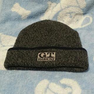 ジーティーホーキンス(G.T. HAWKINS)のニット帽子 G.T .HAWKINS(グレー)(ニット帽/ビーニー)