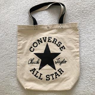 コンバース(CONVERSE)のコンバース♡ロゴ コットンバッグ美品(トートバッグ)