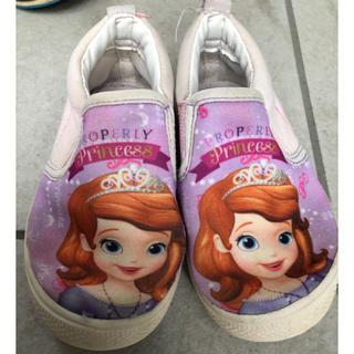 ディズニー(Disney)のソフィア 靴 16cm(スニーカー)
