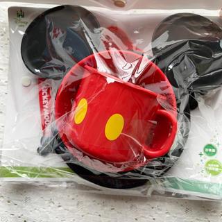 ディズニー(Disney)の【Disney】ミッキーマウス☆食器セット(離乳食器セット)