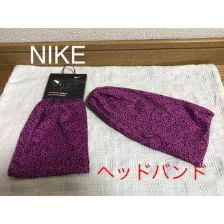 ナイキ(NIKE)の【新品・未使用】 ナイキ(NIKE)  セントラル ヘッドバンド(ヘアバンド)