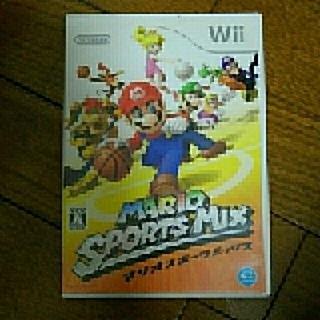 ウィー(Wii)のマリオスポーツwii(家庭用ゲームソフト)