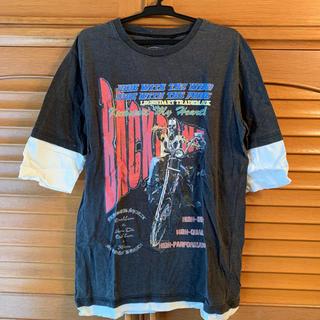 バックボーン(BACKBONE)のバックボーン ツートンカラーカットソー(Tシャツ/カットソー(七分/長袖))