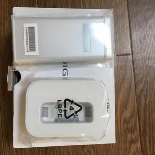 キョウセラ(京セラ)の新品未使用 DIGNOケータイ2 701KC   白 シム解除済み(携帯電話本体)
