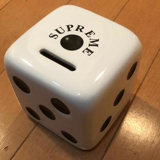 シュプリーム(Supreme)のsupreme dice coin bank box ダイス バンク(置物)