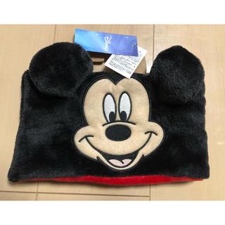 ディズニー(Disney)の新品 ミッキー ネックウォーマー  キッズ(マフラー/ストール)
