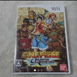 ウィー(Wii)のWii ソフト ワンピース アンリミテッドアドベンチャー(家庭用ゲームソフト)