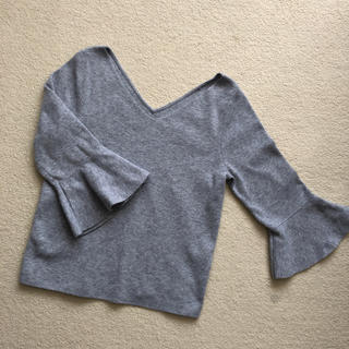 リランドチュール(Rirandture)のRirandture 袖フレアニット(ニット/セーター)