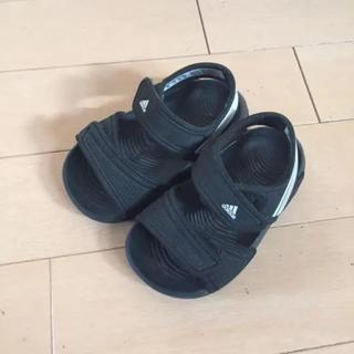 アディダス(adidas)のadidas baby サンダル アディダス 美品(サンダル)