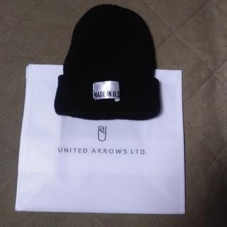 ユナイテッドアローズ(UNITED ARROWS)のUNITED ARROWSニット帽(ニット帽/ビーニー)