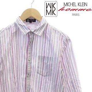 エムケーミッシェルクランオム(MK MICHEL KLEIN homme)のエムケーミッシェルクランオム MK シャツ 七分袖(シャツ)