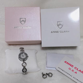 アンクラーク(ANNE CLARK)の美品!  ANNE CLARK  ♡  腕時計(腕時計)