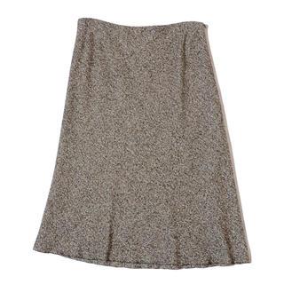 アクリス(AKRIS)のアクリス ツイードスカート   大きいサイズ F46(ひざ丈スカート)