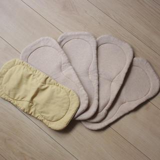 kucca オーガニック成形おむつ 布おむつ 5枚セット(布おむつ)