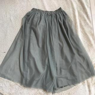 ジーユー(GU)のチュール ガウチョ 150  gu  スカート(スカート)