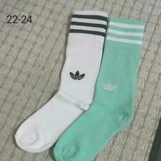 アディダス(adidas)の新品☆アディダス☆ソックス☆22-24(ソックス)