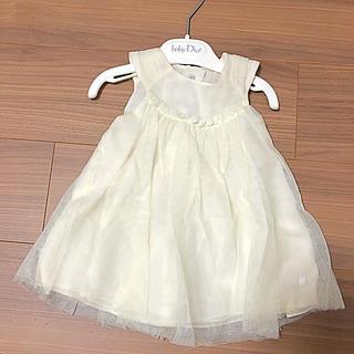 ベビーディオール(baby Dior)のベビードレス ベビー 乳児 新生児 ドレス ディオール 6ヶ月 1歳 結婚式 (セレモニードレス/スーツ)