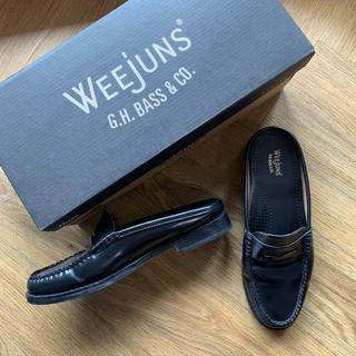 ジーエイチバス(G.H.BASS)のweejuns ローファー サンダル 35(ローファー/革靴)