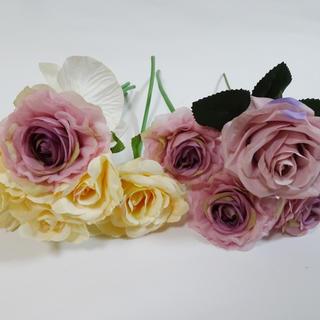 バラとアジサイ造花セット(その他)