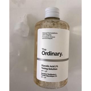 セフォラ(Sephora)のThe ordinaryGlycolicAcid7%  ピーリングトナー(化粧水 / ローション)