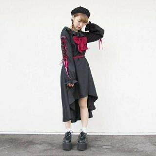 ♥️闇かわ系ロリータワンピース 黒♥️(衣装一式)