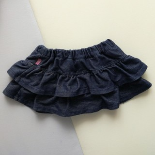 クミキョク(kumikyoku(組曲))の組曲 デニム生地 スカート 80(スカート)