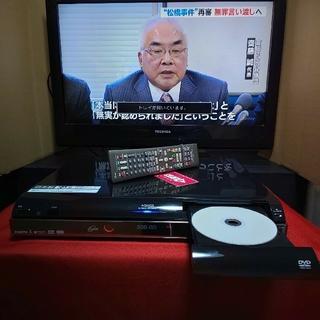 シャープ(SHARP)のシャープAQUOS《DV‐ACW52》☆250GB☆Wチューナー搭載☆(DVDレコーダー)