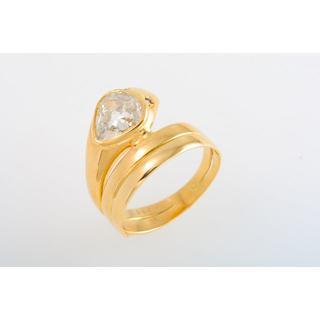 Pt900 ダイヤモンド・ルビー 指輪 (蛇モチーフ) 品番6-753(リング(指輪))