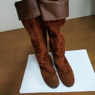 テチチ(Techichi)のロングブーツ☆ブラウン☆レディース(ブーツ)