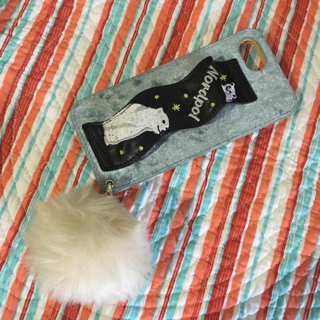 Casselini - キャセリーニ iPhoneケース シロクマ刺繍の通販 by kei-lanikai's shop|キャセリーニならラクマ
