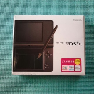 ニンテンドーDS(ニンテンドーDS)のニンテンドー DSi LL ダークブラウン(携帯用ゲーム本体)