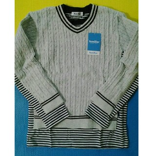 40f2f0c670a00 ファミリア(familiar)の新品☆ファミリアの綿セーター(カットソー)長袖(