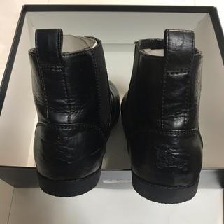 バーバリー(BURBERRY)の美品バーバリー  ブーツ 21cm(ブーツ)