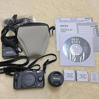 ペンタックス(PENTAX)のPENTAX Q7 デジタル一眼カメラ ブラック(デジタル一眼)