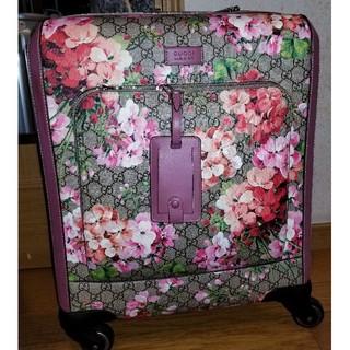 61a0226f30 グッチ(Gucci)のGUCCI キャリーバック 機内可能(スーツケース/キャリーバッグ