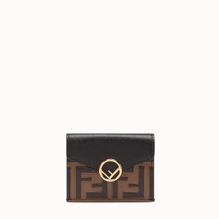 74282200b8bf フェンディ(FENDI)のフェンディ FENDI マイクロ 三つ折り財布(財布)
