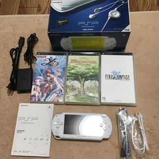 プレイステーションポータブル(PlayStation Portable)のPSP本体&ゲームソフトセット(携帯用ゲーム本体)