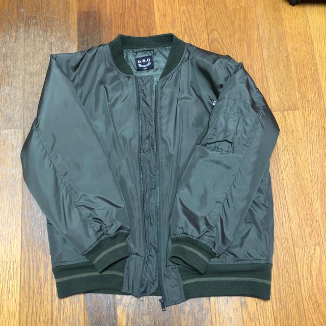しまむら(シマムラ)のノーブランド MA-1 メンズのジャケット/アウター(スタジャン)の商品写真