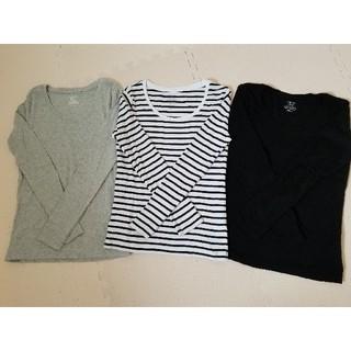 ジーユー(GU)の【最終値下げ】GU   ☆Tシャツ 長袖 M☆(Tシャツ(長袖/七分))