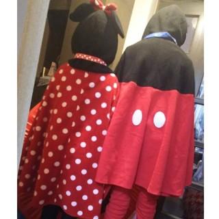 ディズニー(Disney)の⚫️ディズニーリゾート購入⚫️ミッキーミニーぽんちょ⚫️(ポンチョ)