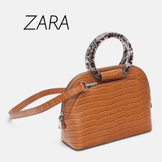 ザラ(ZARA)の【新品・未使用】ZARA クロコダイル風 バッグ(ハンドバッグ)