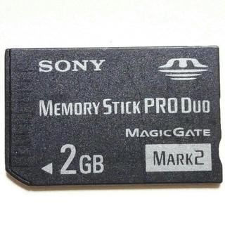 プレイステーションポータブル(PlayStation Portable)のPSP用 2GB メモリースティック PRO DUO ソニー純正1個 即購入歓迎(携帯用ゲーム本体)