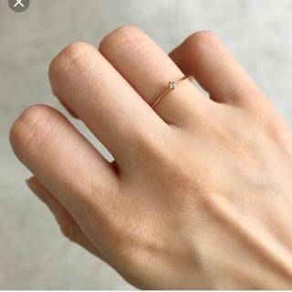 エナソルーナ(Enasoluna)のエナソルーナ べべダイヤリング enasoluna ダイヤモンド(リング(指輪))