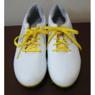アディダス(adidas)のみゅう様♥美品アディダス ゴルフシューズ 24.5cm(シューズ)