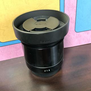 シグマ(SIGMA)のSIGMA 60mm F2.8 DN レンズカバー付 ※説明必読(レンズ(単焦点))