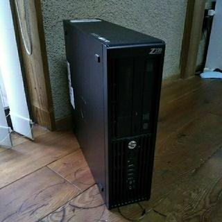 ヒューレットパッカード(HP)のHP Z220 Workstation Xeon E3-1240 V2 (デスクトップ型PC)