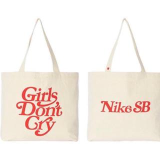 ナイキ(NIKE)のgirls don't cry×nike sb gdc トートバッグ(トートバッグ)
