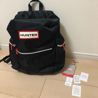 ハンター(HUNTER)の専用です。  Hunter リュック バックパック 国内正規品 黒(リュック/バックパック)